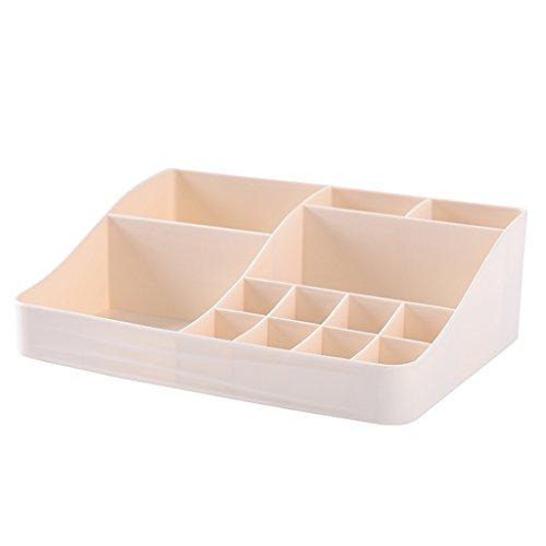 He Xiang Firm Almacenaje de Ropa Caja de Almacenamiento de cosméticos Dormitorio plástico Pequeño Mini Escritorio de...