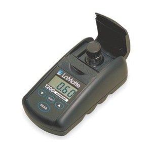 LaMotte 3670-01 Model DC1200-CL Single Test Colorimeter Kit, Chlorine Free and Total, 0-4 ppm Range, 0.5 Detection Limit, DPD Tablets Test (Colorimeter Test)