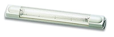 "HELLA 007372002 '7372 Series' 17"" 12V/8W Transistorized Fluorescent Tube Light with White Housing"