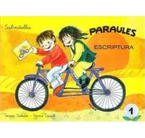 Paraules escriptura 1: Amazon.es: Sabaté Rodié, Teresa: Libros