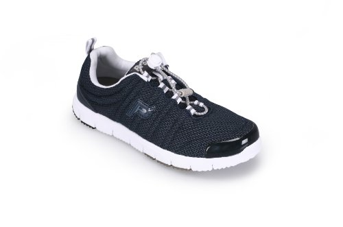 Propet Women's Travelwalker II Shoe,Navy Mesh,6.5 N US