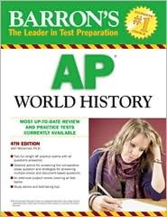 Barron's AP World History 4th (fourth) edition Text Only