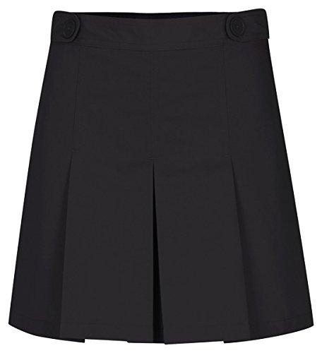 Classroom School Uniforms Juniors Hipster Scooter Skirt, Black, 5/6
