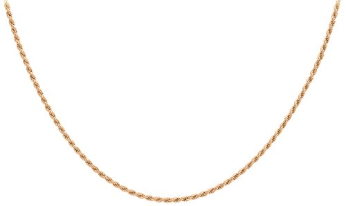 Carissima Gold - Chaîne maille corde - Or rose 9 cts - 41 cm - 5.19.3843
