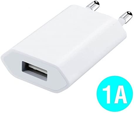 World Smartphones Cargador Cargador Adaptador USB 1 A para ...