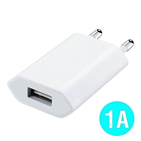 World Smartphones Cargador Cargador Adaptador USB 1 A para Sony ...