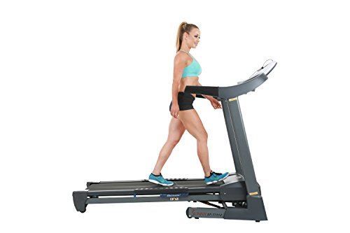 Sunny Health & Fitness SF-T7512 Treadmill, Gray
