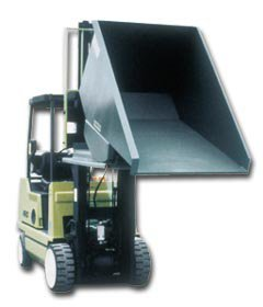 Jesco Self Dumping Hoppers Heavy Duty Hoppers Formed Base (Stackable) - 12 (Bin Heavy Hopper Duty)