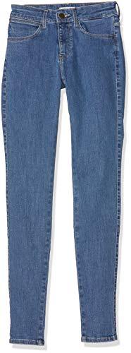 Wrangler Jean Skinny Femme Bleu (Cool Blue 32q)