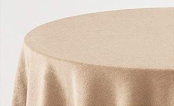 BENEDETTAHOME Falda Mesa Camilla Rectangular Lisa Terciopelo 80x120cm. Beige: Amazon.es: Hogar
