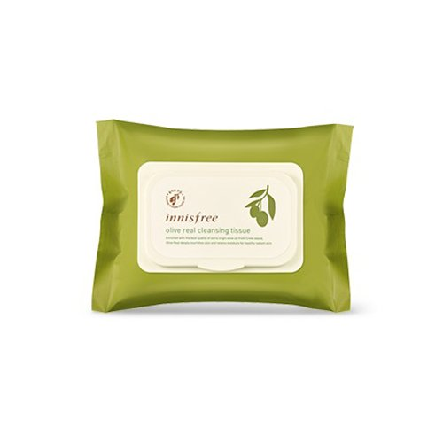 Innisfree-2016-Olive-Real-Cleansing-Tissue-30sheets