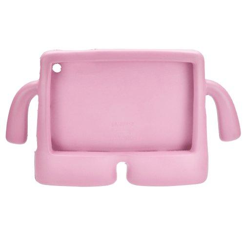 ELENKER™ EVA Kids Cover Thick Foam Shock Proof Soft Stand Cartoon 3D Case for iPad Mini Pink