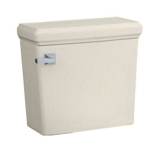 - American Standard 4216.128.222 Town Square Concealed Trap Toilet Tank Only, Linen