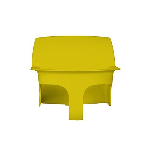 CYBEX Gold LEMO Baby Set, Für CYBEX LEMO Sitzsystem, Aufsatz für Kleinkinder, Ab 6 Monate bis 3 Jahre (9-15 kg), Inkl. Gurtsystem,Canary Yellow