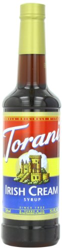 Torani Syrup, Irish Cream, 25.4 Ounce (Pack of 4) (Smooth Coffee Cream)