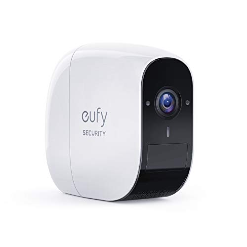 eufy Security eufyCam E Security Camera (Region A), Wireless, 1-Year Battery Life, 1080p, 2-Way Audio, IP65 Weatherproof, Indoor & Outdoor Use, Add-On Camera, Requires HomeBase/HomeBase E (Region A)