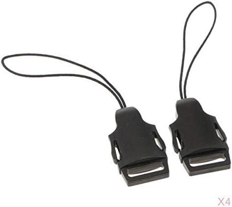 8Pack Camera Shoulder Neck Strap Belt Connect Buckle for Women Men All DSLR SLR Nikon Canon Sony Olympus Samsung Pentax