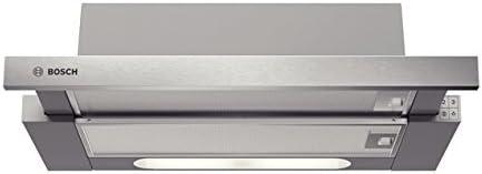 Bosch DHI625R Telescópica o extraplana Acero inoxidable 350m³/h - Campana (350 m³/h, Canalizado/Recirculación, 64 dB, 160 m³/h, Telescópica o extraplana, Acero inoxidable): Amazon.es: Hogar