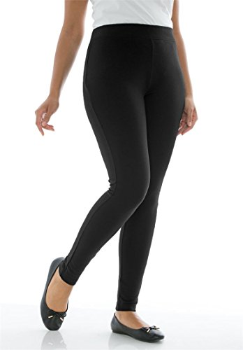 Jessica-London-Womens-Plus-Size-Ponte-Knit-Leggings