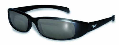 Global Vision Eyewear New Attitude Sunglasses, Super Dark, Super - Davidson Sunglasses