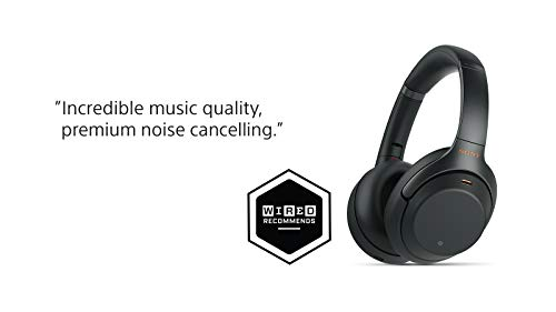 Sony Noise Cancelling Headphones WH1000XM3: Wireless Bluetooth Over the Ear  Headphones with Mic and Alexa voice control - Industry Leading Active