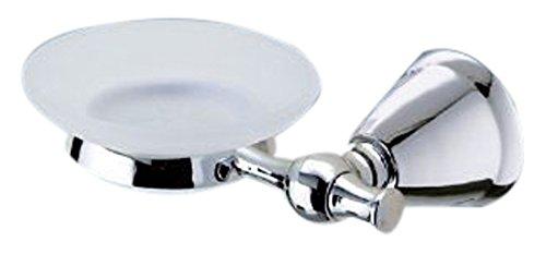 1 L x 6.3 W 1 L x 6.3 W Nameek/'s Gedy LI11-13 Lira Wall Mounted Soap Dish
