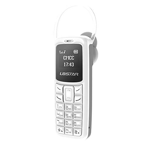 Mp3 Message (2G Portable Cell Phone BT Dialer English Keyboard Unlacked Mobile Phone Support SIM/TF, Voice Changer, MP3 Music Play, Memory 32+64M, 18 Languages, Max 500 Contacts & 100 Messages,TLT RetaiL (White))
