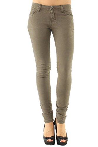 B038 mocha Donna Divadames k Jeans 1B1qCpOU