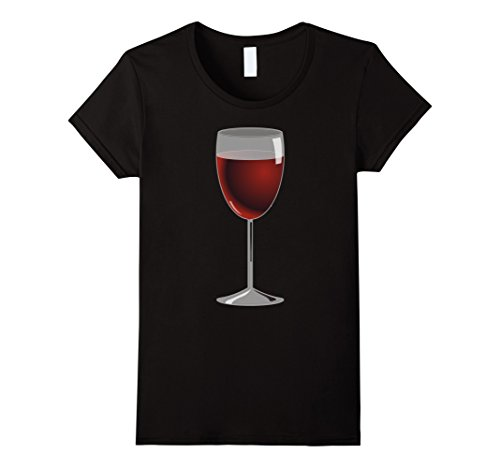 Womens Glass Of Wine Costume T-Shirt Pairing with Cheese Costume Large (Wine Cheese Adult Couples Costumes)