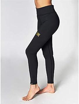 LEONE 1947 ABXE54 Legging Essential Noir Mode Sport Femme
