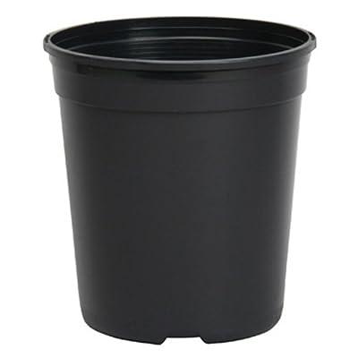 Dillen Nursery Container, 1-Gallon (2.8 Qt) , Black: Garden & Outdoor