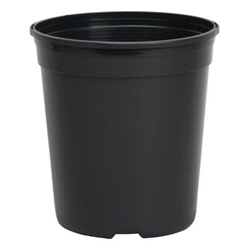 Dillen Nursery Container, 1-Gallon (2.8 Qt) , Black
