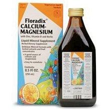 Salus Haus calcium-magnésium liquide 17-Onces