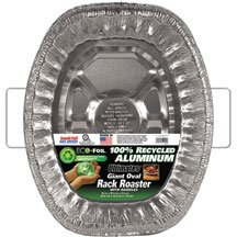 Eco Foil Ultra Giant Oval with Handle 12-Count