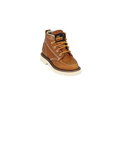 Thorogood 314-4110 Kids' Jackson - Moc Toe Boot, Gladiator Tan - 12 Child US Little Kid