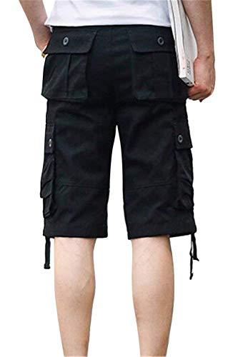 Avec Cargo D'été W42 Décontracté Genou De Poches Couleurs color 33 6 Style Fashion Longueur 9 Court Size Vêtements Schwarz Pour Pantalon Hommes W29 Poche Fête Lannister qx018F