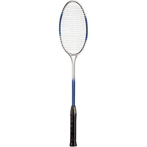 - Champion Sports Tempered Steel Twin Shaft Badminton Racket with Steel Coated Strings