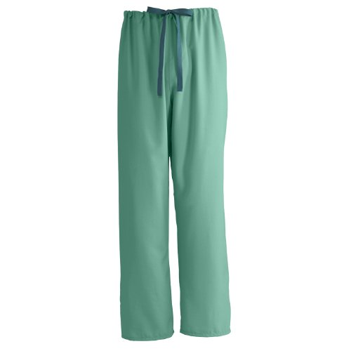 Medline PerforMAX Reversible Drawstring Scrub Pant, ANG-CC, Small, Jade Green