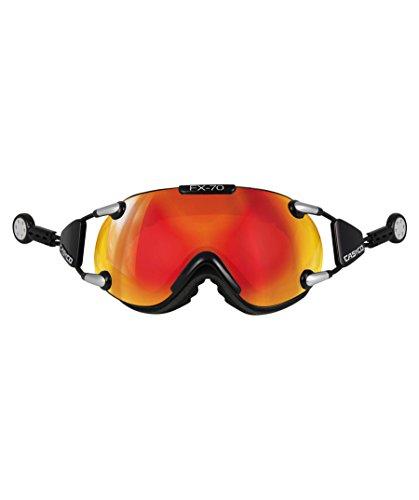 Casco Lunettes de ski FX70Carbonic Effet miroir schwarz orange verspiegelt