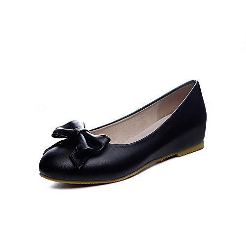 Femme 1TO9 Noir Noir Sandales MMS06102 Compensées 36 5 Trn7rtUw