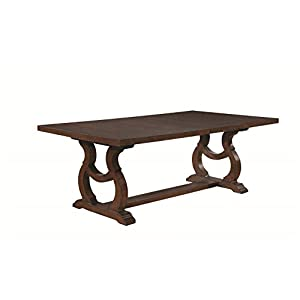 Coaster Glen Cove Dining Table, Antique Java