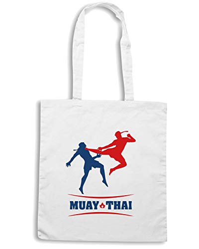 Borsa MUAY Bianca TAM0135 Speed Shopper Shirt THAI zwBq75TCx