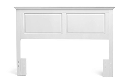 Mantua HB33-CG Arcadia Wood Headboard, Twin, Gloss White