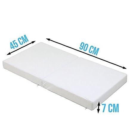Quatre Dimensions Enfant pliable pour lit ou berceau Sac de transport Norme CE Monsieur B/éb/é /® Matelas B/éb/é