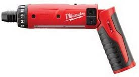 Milwaukee Cordless Driver, M4, 1 4 H, Li-Ion, w 2 Batteries