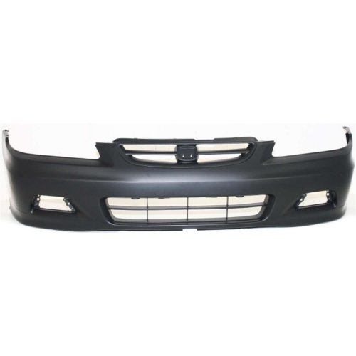 Front Bumper Cover Compatible with HONDA ACCORD 2001-2002 Primed Coupe ()