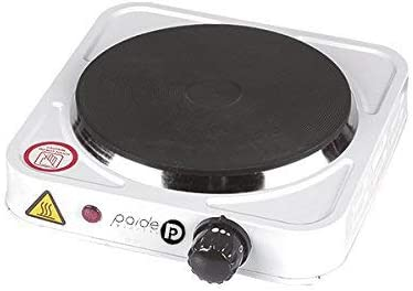 PAIDE P DIGITAL Hornillo eléctrico de Cocina Bajo Consumo 1000w. Portátil con Cable.