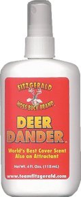 Team Fitzgerald Deer Dander Red, 4 oz.