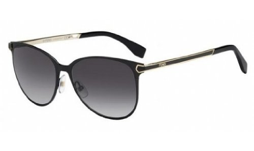 FENDI Sunglasses 0022/S 07Wh Shiny Black - Fendi Black