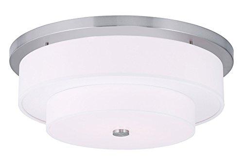 Amazon.com: 4 luz níquel cepillado soporte de techo: Home ...